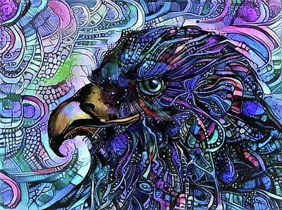 Surrealism Royalty-Free and Rights-Managed Images - Mech Bird by Darren Cannell