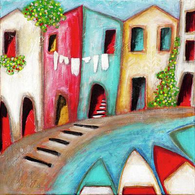 Mixed Media - Mediterranean 2 by Stanka Vukelic