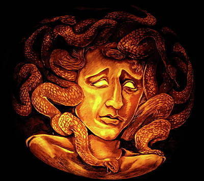 Abstract Graphics - Medusa by Stuart Manning