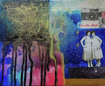 Mixed Media - Memories by Heather Shalhoub