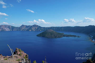 Royalty-Free and Rights-Managed Images - Merriam Point, Crater Lake by Michael Ver Sprill