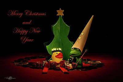Still Life Royalty-Free and Rights-Managed Images - Merry Christmas and Happy New Year by Torbjorn Swenelius