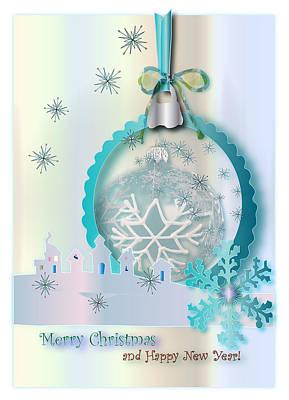 Digital Art - Merry Christmas by Marianna MO Warr