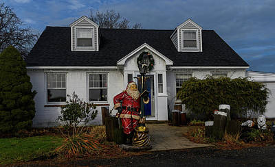 Photograph - Merry Christmas by Myer Bornstein