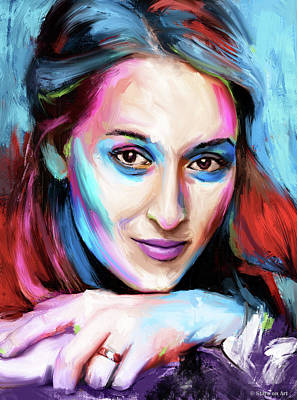Pop Art Rights Managed Images - Meryl Streep Royalty-Free Image by Stars on Art