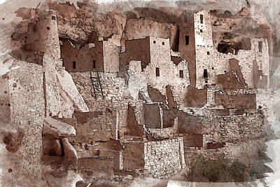 Photograph - Mesa Verde Cliff Palace by Bud Simpson