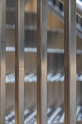 School Teaching - Metal Staircase Detail by Robert Ullmann