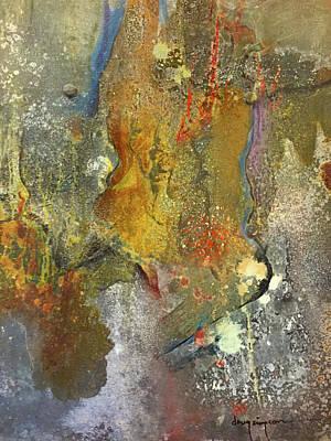 Mixed Media - Metals Five by Doug Simpson