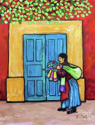Music Figurative Potraits - Mexican Vendor by Pristine Cartera Turkus