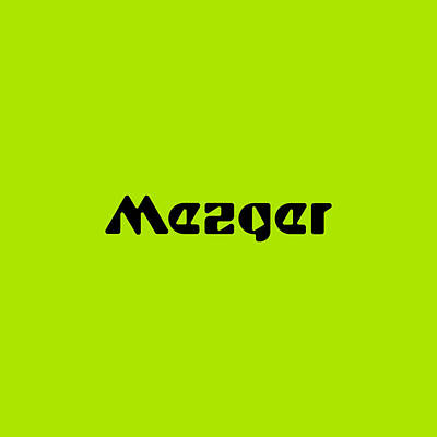 Royalty-Free and Rights-Managed Images - Mezger #Mezger by TintoDesigns