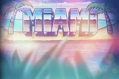 Royalty-Free and Rights-Managed Images - Miami by Az Jackson