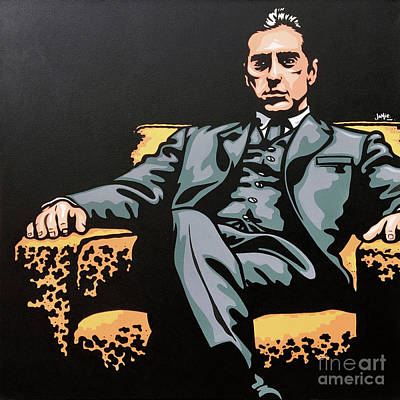 Painting - Michael Corleone by James Lee