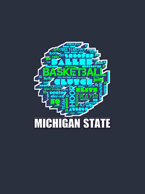 Mountain Landscape Royalty Free Images - Michigan State College Basketball Team City School Royalty-Free Image by Duong Ngoc son