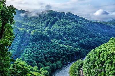 Staff Picks Cortney Herron - Midland Trail View of New River Gorge by Thomas R Fletcher