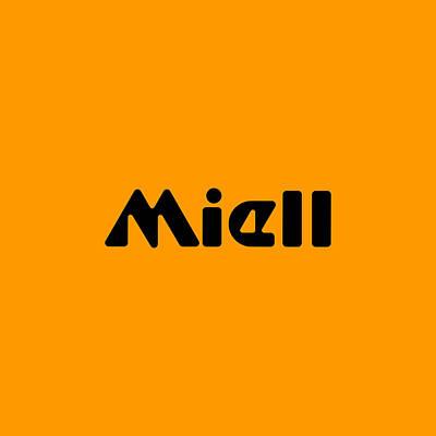 Digital Art - Miell by TintoDesigns