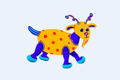 Recently Sold - Animals Digital Art - Milo by Mandy Tabatt