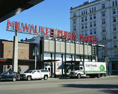 Photograph - Milwaukee Public Market Cut Fresh by Vincent Buckley