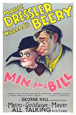 Royalty-Free and Rights-Managed Images - Min and Bill, with Marie Dressler and Wallace Beery, 1930 by Stars on Art