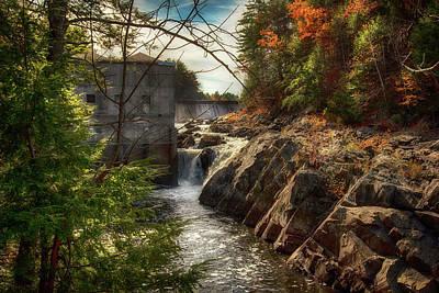 Katharine Hepburn - Mine Falls Park in Autumn - Nashua, NH by Joann Vitali