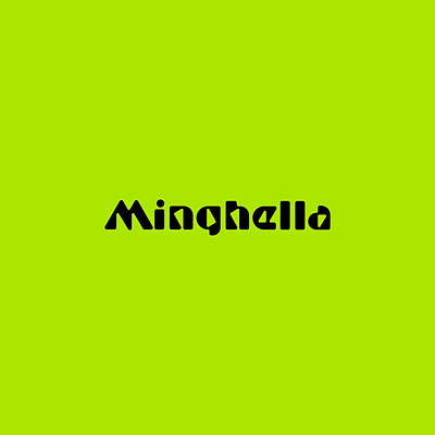 Royalty-Free and Rights-Managed Images - Minghella by TintoDesigns
