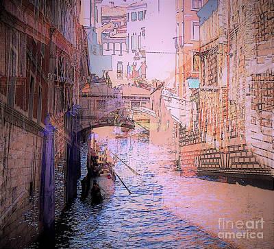 Digital Art - Mirage in Venezia by Chris Bee Photography