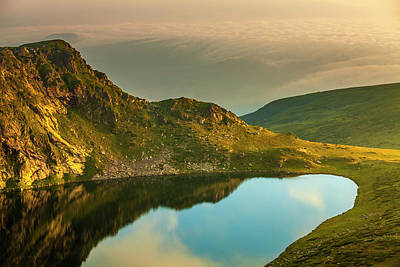 Abstract Royalty-Free and Rights-Managed Images - Mirror Lake by Evgeni Dinev