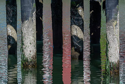 Pittsburgh According To Ron Magnes - Mission Bay Reflection and Shadow 6/15 by Bruce Frye