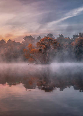 Royalty-Free and Rights-Managed Images - Misty Portrait No 1 by Chris Fletcher