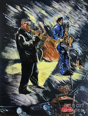 Music Paintings - Mo Better Blues by Gregory Taylor