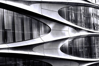 Granger Royalty Free Images - Modern Art On A Building Royalty-Free Image by Allen Beatty