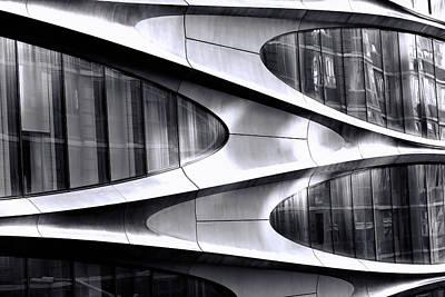 Truck Art - Modern Art On A Building by Allen Beatty