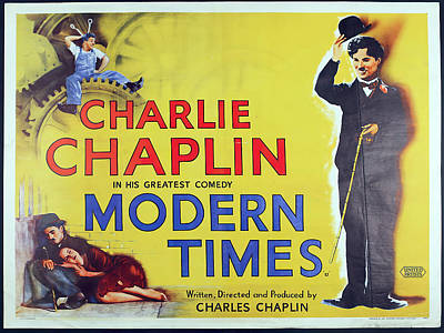 Royalty-Free and Rights-Managed Images - Modern Times - 1936 - 2 by Stars on Art