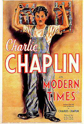 Royalty-Free and Rights-Managed Images - Modern Times movie poster 1936 by Stars on Art