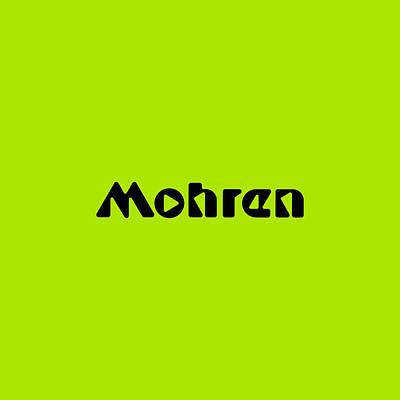 Royalty-Free and Rights-Managed Images - Mohren #Mohren by TintoDesigns
