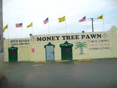 Painting - Money Tree Pawn 2020 - 2355f by Albert Vatveri Studio