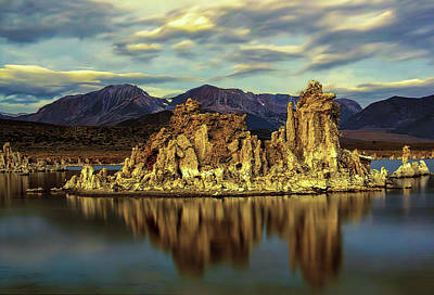 Urban Abstracts Royalty Free Images - Mono Lake Royalty-Free Image by Maria Coulson