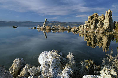 Surrealism Royalty-Free and Rights-Managed Images - Mono Lake by Michael McCormack
