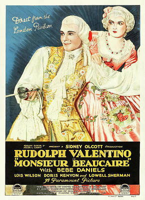 Royalty-Free and Rights-Managed Images - Monsieur Beaucaire, 1924 by Stars on Art