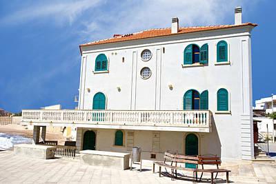 Truck Art - Montalbanos house, Punta Secca, Sicily, Italy by Joe Vella