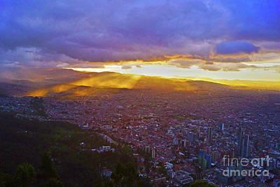 Polaroid Camera - Monte Serrate Sunset by Cassandra Buckley