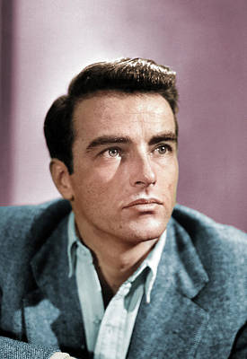 Royalty-Free and Rights-Managed Images - Montgomery Clift photo by Stars on Art