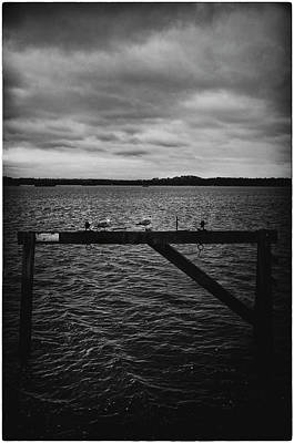 Photograph - Moody Sea Views by Lenny Carter