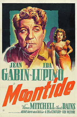 Royalty-Free and Rights-Managed Images - Moontide, 1942 by Stars on Art