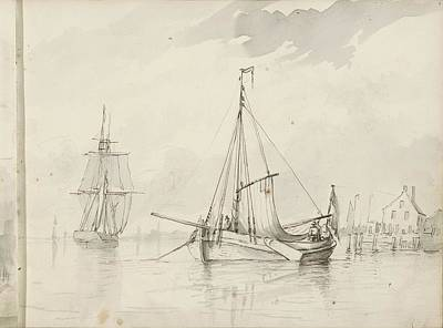 Kitchen Spices And Herbs - Moored boats at a harbor by Artistic Panda