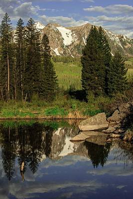 Katharine Hepburn - Moose  pond by Greg Wyatt