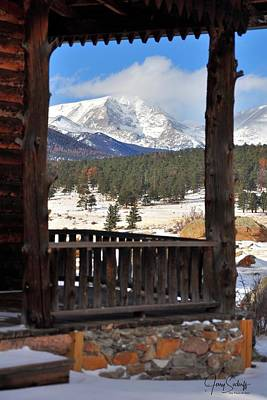 Jerry Sodorff Royalty-Free and Rights-Managed Images - Moraine Flats Cabin DS by Jerry Sodorff