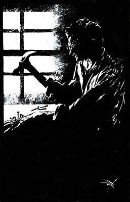 Drawing - More Complete Psychosis by Dan Henk