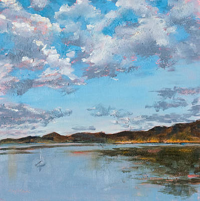 Painting - Morning Has Broken by Mary Benke