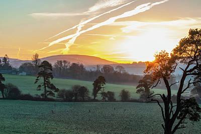 Nirvana - Morning Jet Trails by Rob Hemphill