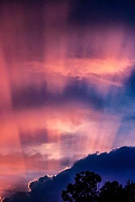 Keith Richards - Morning Skies  by Linda Van Dyke